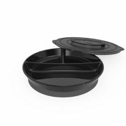 Twistshake - Divided Plate 6+ - Black