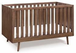 Ubabub - Nifty Timber 3-in-1 Crib - Walnut