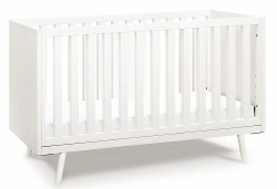 Ubabub - Nifty Timber 3-in-1 Crib - Warm White