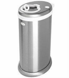 Ubbi - Diaper Pail - Chrome