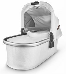 Uppababy - 2020 Bassinet - Bryce (White Marl)