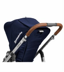 Uppababy - Leather Handle Covers Saddle for Cruz Stroller