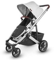 Uppababy - 2020 Cruz V2 Stroller - Bryce (White Marl)