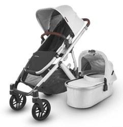 Uppababy - 2020 Vista V2 Stroller - Bryce (White Marl)