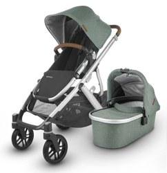 Uppababy - 2020 Vista V2 Stroller-  Emmett (Green Melange) *Pre-Order for February 2020*