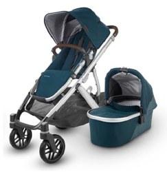 Uppababy - 2020 Vista V2 Stroller - Finn (Deep Sea) *Pre-Order for February 2020*