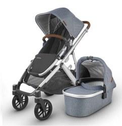 Uppababy - 2020 Vista V2 Stroller - Gregory (Blue Melange)
