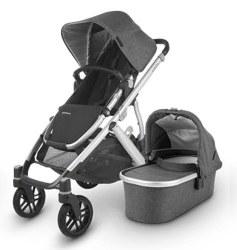 Uppababy - 2020 Vista V2 Stroller - Jordan (Charcoal Melange)