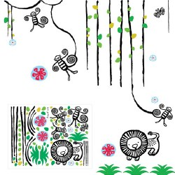 Wee Gallery - Wall Graphics/Decals - Jungle