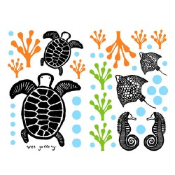 Wee Gallery - Wall Graphics/Decals - Sea