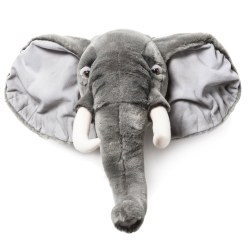 Plush Head -  Animal Head - Elephant