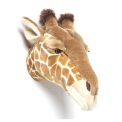 Plush Head -  Animal Head - Giraffe