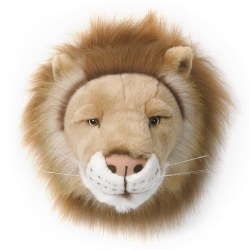 Plush Head -  Animal Head - Lion