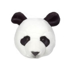 Plush Head -  Animal Head - Panda