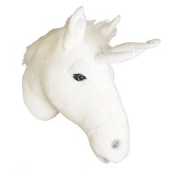 Plush Head -  Animal Head - Unicorn