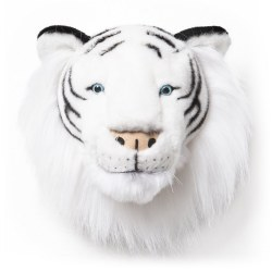Plush Head -  Animal Head - WhiteTiger