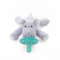 WubbaNub - Infant Pacifier - Baby Hippo