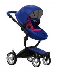 Mima - Xari Black Chassis - Royal Blue Seat - Hot Magenta Starter Pack