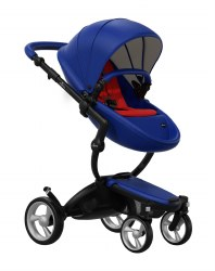Mima - Xari Black Chassis - Royal Blue Seat - Red Starter Pack