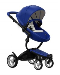 Mima - Xari Black Chassis - Royal Blue Seat - Stone White Starter Pack