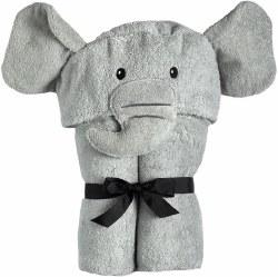 Yikes Twins - Hooded Towel - Elephant