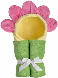 Yikes Twins - Hooded Towel - Flower