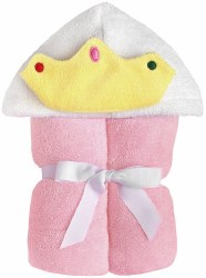 Yikes Twins - Hooded Towel - Pink Princess