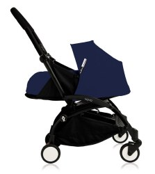 Yoyo - Yoyo+ 0+ Newborn Stroller Black/ Air France Blue