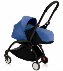 Yoyo - Yoyo+ 0+ Newborn Stroller Black/ Blue