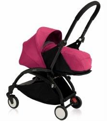 Yoyo - Yoyo+ 0+ Newborn Stroller Black/ Pink