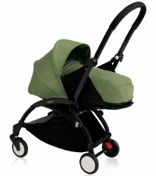 Yoyo - Yoyo+ 0+ Newborn Stroller Black/ Peppermint