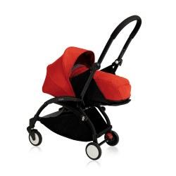 Yoyo - Yoyo+ 0+ Newborn Stroller Black/ Red
