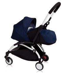 Yoyo - Yoyo+ 0+ Newborn Stroller White/ Air France Blue