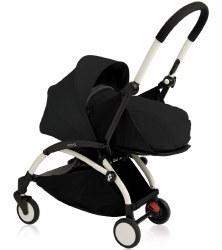 Babyzen - 2019 Yoyo+ 0+ Newborn Stroller White/ Black