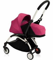 Yoyo - Yoyo+ 0+ Newborn Stroller White/ Pink