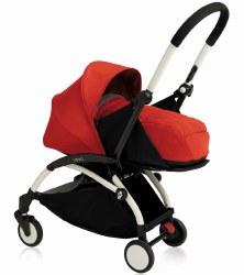 Babyzen - 2019 Yoyo+ 0+ Newborn Stroller White/ Red