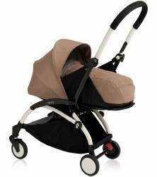 Babyzen - 2019 Yoyo+ 0+ Newborn Stroller White/ Taupe