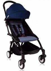 Babyzen - Yoyo+ 6+ Stroller Black - Air France Blue