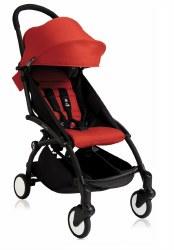 Yoyo - Yoyo+ 6+ Stroller Black/ Red