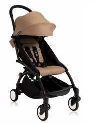 Babyzen - Yoyo+ 6+ Stroller Black - Taupe