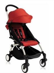 Babyzen - Yoyo+ 6+ Stroller White - Red