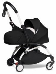 Yoyo - 2020 Yoyo2 0+ Stroller White - Black