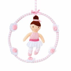 Knitted World - Crochet Mobile Ballerina