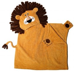 Zoocchini - Hooded Towel - Lion