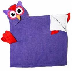 Zoocchini - Hooded Towel - Owl