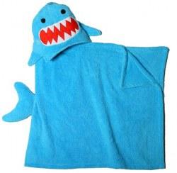 Zoocchini - Hooded Towel - Shark