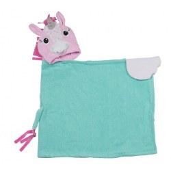 Zoocchini - Hooded Towel - Unicorn