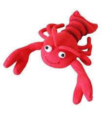 "Knitted World - Crochet Flamingo 8"""