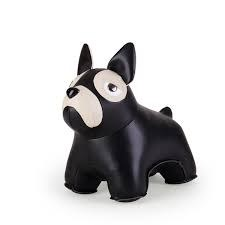 Zuny - Bookend - French Bull Dog Black