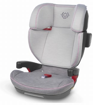 Uppababy - Alta Booster Car Seat - Sasha (Grey Melange/Pink Accent) *Pre-Order/Available Spring 2020*